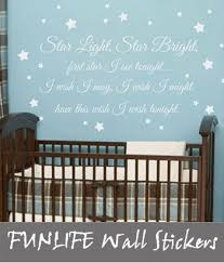 Nursery Sayings Wall Decals Miracle Wall Decals Quotes For Nursery Sle Classic Modern Baby