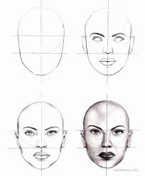 How To Draw Female Anatomy How To Draw A Face 25 Step By Step Drawings And Video Tutorials