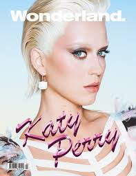 katy perry goes blonde for wonderland magazine cover 1 of 3