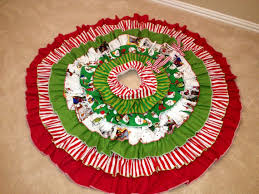 60 the grinch ruffle christmas tree skirt