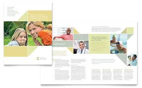 Publisher Brochure Templates by Brochure Templates Indesign Illustrator Publisher Word