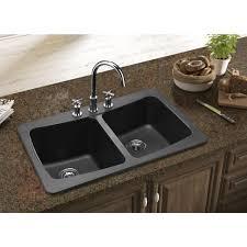 backsplash undermount composite granite kitchen sinks attractive