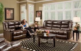 Reclining Loveseat W Console American Furniture Manufacturing New Era Walnut Reclining Loveseat