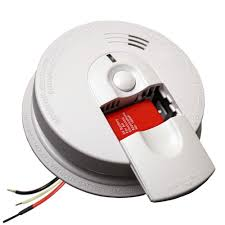 flashing green light on kidde smoke detector firex hardwired 120 volt inter connectable smoke alarm with battery