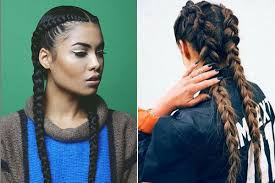 weave two duky braid hairstyle the latest hair trend alert boxer braids bebeautiful