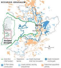 Jerusalem World Map by Why Jerusalem Is So Important Gulfnews Com