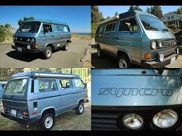 Westfalia Awning For Sale 1987 Vw Syncro Westfalia Sold Youtube