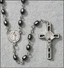hematite rosary gorgeous 27 black hematite jerusalem soil rosary