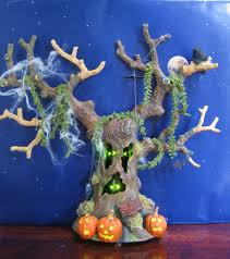 dept 56 halloween retired dept 56 snow village halloween haunted tree large awesome