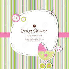 Baby Shower Card Invitations Baby Shower Card Royalty Free Cliparts Vectors And Stock