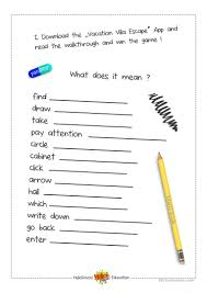 escape room game worksheet free esl printable worksheets made by