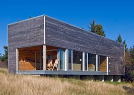 architects add zen like timber spa and gym to coastal nova scotia