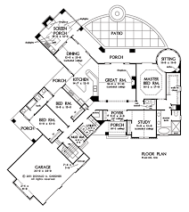 Donald A Gardner Floor Plans House Plan The Keaton By Donald A Gardner Architects