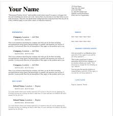 Ats Resume Format Career Document Store Job Search Superhero