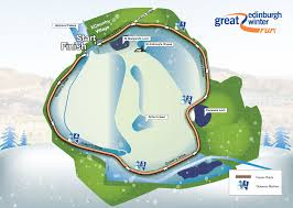 Map Run Route by Simplyhealth Great Edinburgh Winter Run