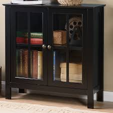 accent cabinet with glass doors os home office furniture glass 2 door accent cabinet reviews