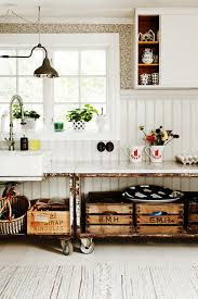 creative ideas for kitchen rustic rollers creative kitchen ideas lonny
