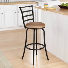 bar stools metal bar stools at walmart kensie tweed barstool