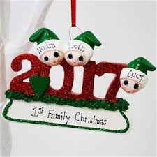 personalised christmas tree decorations personalised christmas