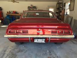69 camaro apple 1969 chevy camaro ss x55 apple slick paint