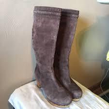 ugg shoes australia brown boots poshmark ugg shoes australia rosabella brown suede boot poshmark