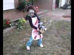Texas Chainsaw Halloween Costumes Tylers 2010 Halloween Costume Chainsaw