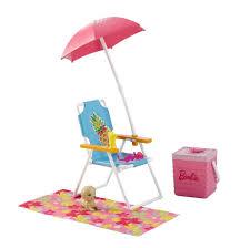 halloween city cda barbie beach picnic furniture and accessories toys