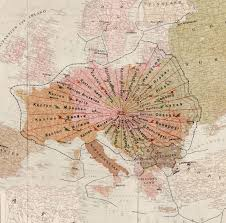Map Of Europe 1920 by An Extraordinary Map Of A Proposed European Union U2026 In 1920