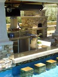 outdoor kitchen designs plans with pool trend home design and