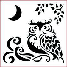 free printable owl stencils www mindsandvines com