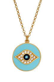 blue eye necklace images Sterling blue eye necklace sugar ny jpg