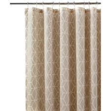 White Cotton Duck Shower Curtain by Home Decorators Collection Still Water 72 In L Indigo Shower