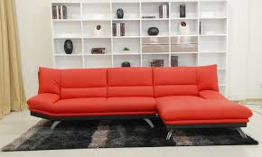 Red Sectional Sofas Tosh Furniture Red Leather Sectional Sofa And Ottoman Flap Stores