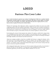 cover letter business cover letter template business plan cover