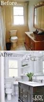 Small Bathroom Makeovers Before And After - 54 best before u0026 after bathroom remodeling projects images on