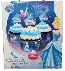 Cinderella Cupcakes Amazon Com Cinderella Cupcake Party Baking Kit Cake Mixes