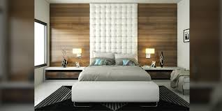 bed back wall design bedroom white modern bedroom sets with high headback and wood