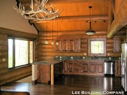 log cabin loft lee building company