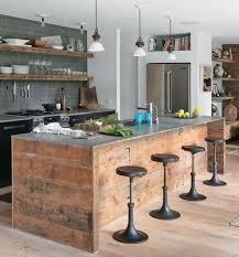 customisation cuisine îlot central en palette 32 idées diy pour customiser sa cuisine