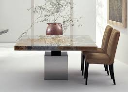 Travertine Dining Table Download Round Stone Dining Table Home Intercine