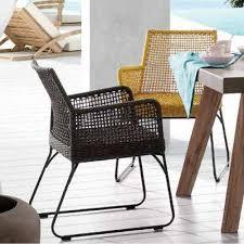 fauteuil en corde chaises de jardin modernes de design italien