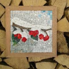 four seasons winter mosaic craft kit for adults diy mosaics
