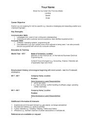 Free Resume Builder No Sign Up Fair Resume Templates Free No Sign Up With Free Resume Builder No