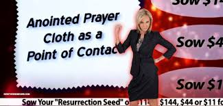 prayer cloth false paula white wants you to sow your lazarus seed of