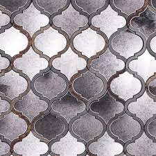 tilebar com veranda paris gray quartz and mirror tile for the