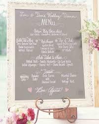 menu cards from real weddings martha stewart weddings