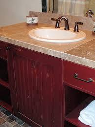 Bathroom Vanities Northern Virginia by Barn Red Bathroom Vanity Bathroom Ideas Pinterest Red