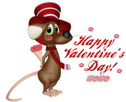 happy s day mouse happy s day mouse with flowers bouquet glitter ecard