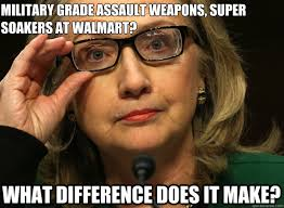 What Difference Does It Make Meme - military grade assault weapons super soakers at walmart what