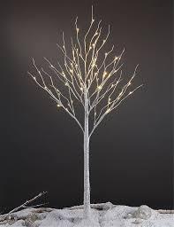 amazon com lightshare 6 feet lighted birch tree 72 led lights